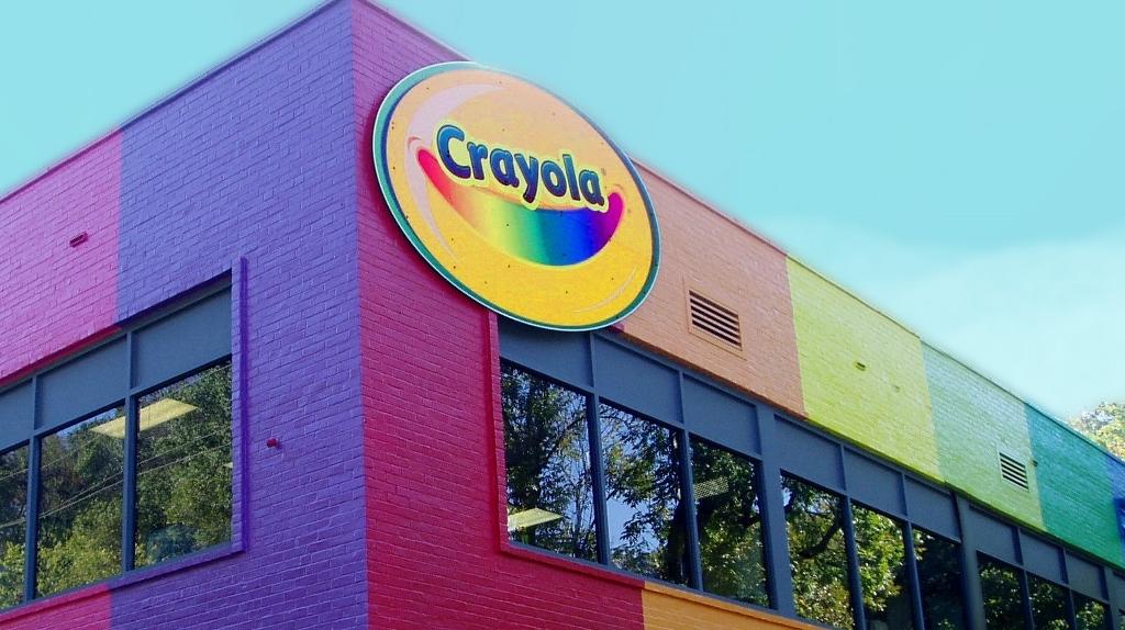 crayola factory valley wide signs graphics